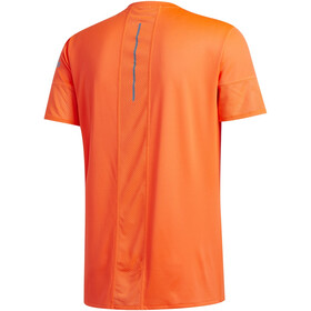 adidas 25/7 RUNR Camiseta Hombre, solar red/sharp blue